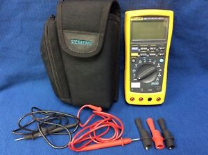 Fluke 189 True Rms Multimeter With Probes In Case Ships Free