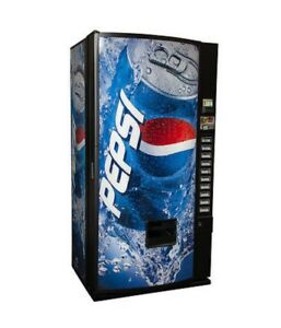 Soda Vending Machine Pepsi No Bill Acceptor