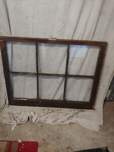 Wood Window Sash With 6 Panes