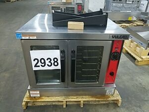 2938 Used S d Vulcan Deep Depth Series Convection Oven nat Gas Model vc6gd