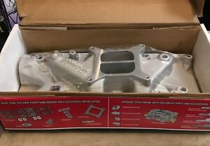 New Edelbrock Small Block Ford 2121 Performer Intake Manifold Ford Sbf 289 302