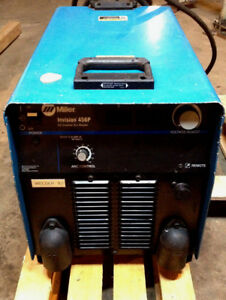 Miller Invision 456p Dc Inverter Arc Welder 230 460 Three Phase Robotic