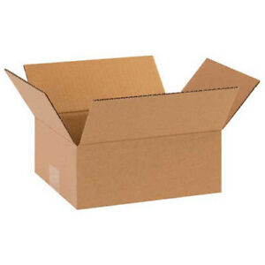 10 x9 x4 Corrugated Boxes 25 Pack Lot Of 25