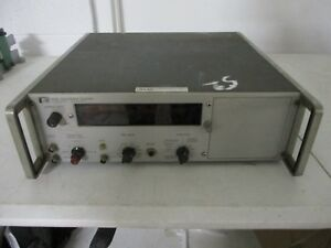 Hp Agilent Electronic Counter Frequency Measuring Model 5245l Used Free Ship