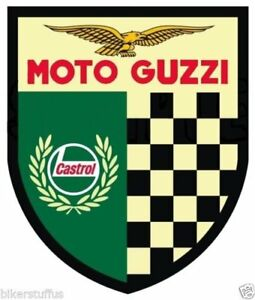 Moto Guzzi Sticker For Skateboard Luggage Laptop Tumblers Car A