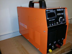 Plasma Cutter Pilot Arc Cut70f Igbt 70amp Inverter Voltage 220v