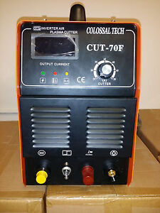 Pilot Arc Plasma Cutter Cut70f Igbt 70amp Inverter Voltage 220v