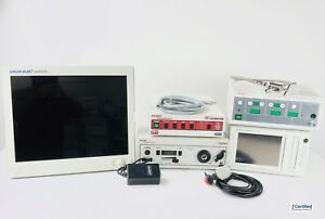 Stryker 888 Laparoscopy System W xenon Light Source Sdc Insufflator Monitor