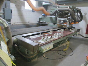 Cms Twin Spindle Cnc Router Model Nc sa 32 09 2tror New 92 18k Spindles