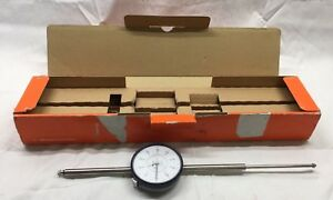 Mitutoyo 3428s 19 Dial Indicator 4 In Original Box Very Nice Shape Look