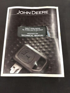 John Deer Gator Ts Th 6x4 Diesel Technical Service Manual Tm2239