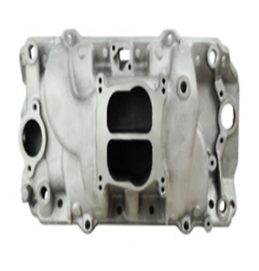 Big Block Chevy 454 Holeshot Intake Manifold Dual Plane Oval Port Satin Sharp