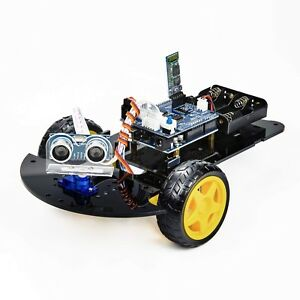 Uctronics Bluetooth Robot Car Kit For Arduino With Uno R3 Hc s 2day Delivery