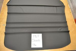 1968 68 Chevelle Ss 5 Bow Black Tier Grain Headliner Usa Made Top Quality