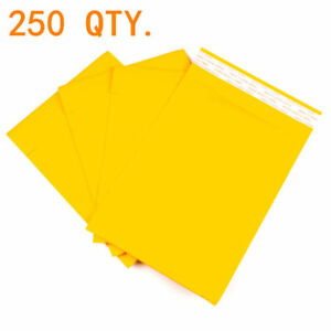 250 0 6 x10 Kraft Paper Padded Bubble Envelopes Mailers Bags Shipping Case New