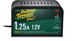 Battery Tender Plus 1 25 Amp Charger Storage Voltage Quick Connect Harness
