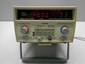 Sencore Lc101 Z Meter Capacitor Inductance Analyzer