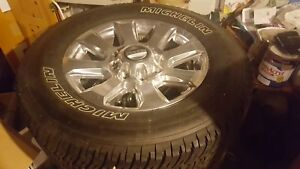 Barely Used 20 Inch Ford Wheels And Tires