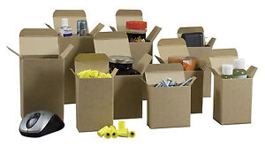 250 4 25 X 4 25 X 4 875 Kraft Cardboard Boxes For Parts Gifts Fasteners