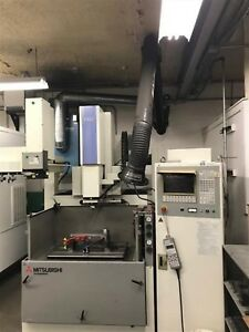Mitsubishi Model Ex 22 29 5 X 21 6 Table Cnc Ram Edm W c axis
