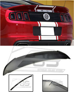 Gt500 Style Carbon Fiber Rear Trunk Spoiler Wing Lid For 10 14 Ford Mustang