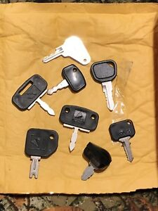 Complete Set Of New Oem Massey Ferguson Farm Tractor Equipment Keys