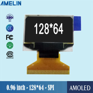 0 96 Inch 128 64 Transparent Lcd Oled Display Module