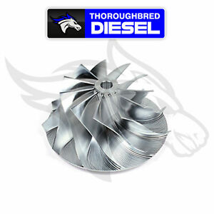 Wicked Wheel 2 Billet Turbo Compressor Wheel Ford Powerstroke Diesel 7 3l 94 03