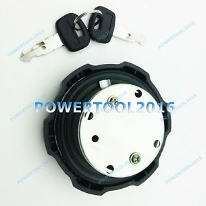 Fuel Cap With 2 Keys For Caterpillar Wheel Loaders 901c 903c