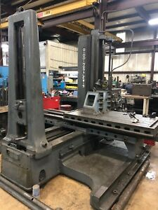 3 Giddings Lewis Table Type Horizontal Boring Mill Model 300 t