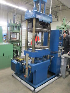 Stokes Heated Compression Molding Press 16 x 18 Platen W thermal Heat Exchanger