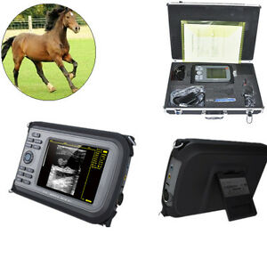Veterinary 5 5 palmsmart Handheld Ultrasound Scanner rectal Built in 64 Images