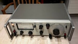 Hp Hewlett Packard 333a Distortion Analyzer Preowned