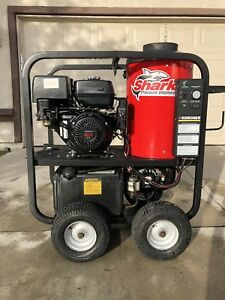 Used Shark Spg353027 Gas diesel 3 5gpm 3000psi Hot Water Pressure Washer