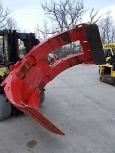 2013 Bolzoni Auramo 84 Inch Paper Roll Forklift Clamp Roll Attachment Cascade