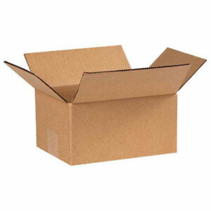 7 x5 x3 Corrugated Boxes 25 Pack Lot Of 25