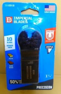 Imperial Blades Precision Hcs Blade Oscillating One Fit 1 1 4