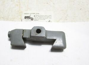 South Bend Cross Slide Thread Stop Threading Metal Lathe Compound Dovetail Lock