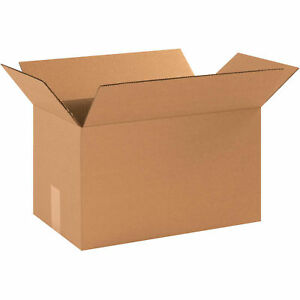 16x9x9 Cardboard Corrugated Boxes 200 Lb Test ect 32 Kraft 25 Pack Lot Of