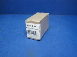Lot Of 100 Jb Industries Nft5 4 Cap With O ring 1 4