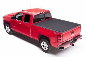 Bakflip Mx4 Tri Fold Tonneau Cover For 2019 Chevy Silverado Gmc Sierra 5 7ft Bed