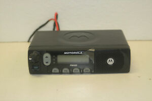 Motorola Pm400 Aam50knf9aa3an 1 25w 146 174 Mhz Vhf Mobile Radio