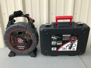 Ridgid Seesnake Microreel 35188 Ca350 100 Drain Video Inspection Camera