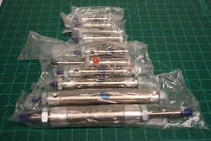 Bimba Pneumatic Air Cylinder 1 Norgren Bore Stroke Double Acting Low Lot 9 New