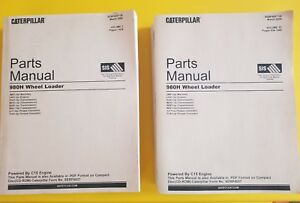 Cat Caterpillar 980h Wheel Loader Parts Book Manual S n Jms1 up 2 Vol Set