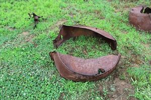Ford Model A T 4ea Fenders Grill And Misc Item All For One Price Rat Rod