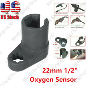 1 Oxygen Sensor Wrench 22mm 1 2 Offset Removal Flare Nut Socket Tool 22mm 7 8