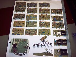 Used Polar Paper Cutter Model 115ce Lot Of Circuit Boards