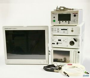 Stryker 1088 Hd Laparoscopy System W xenon Light Source Sdc 40 Liter Monitor