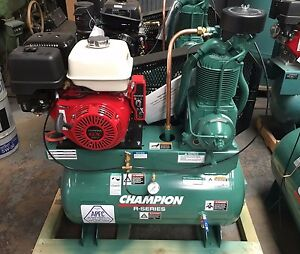 Hgr7 3h Champion 30gallon 13hp Honda Air Compressor 3year Parts Labor Warranty